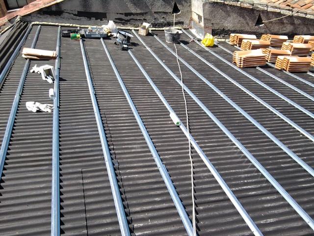 Reparaci n de tejados y terrazas en madrid tejas - Tejados para terrazas ...