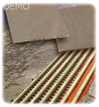 Reparaci n de tejados y terrazas en madrid pizarra - Tejados para terrazas ...